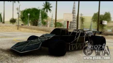 Flip Car 2012 for GTA San Andreas