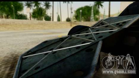 Flip Car 2012 for GTA San Andreas right view