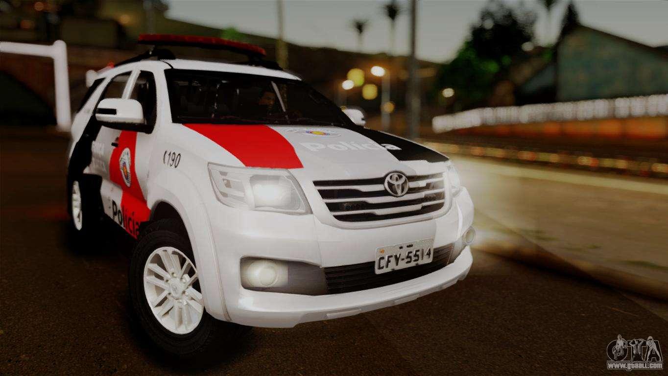 Toyota Hilux SW4 2014 Forca Tatica for GTA San Andreas