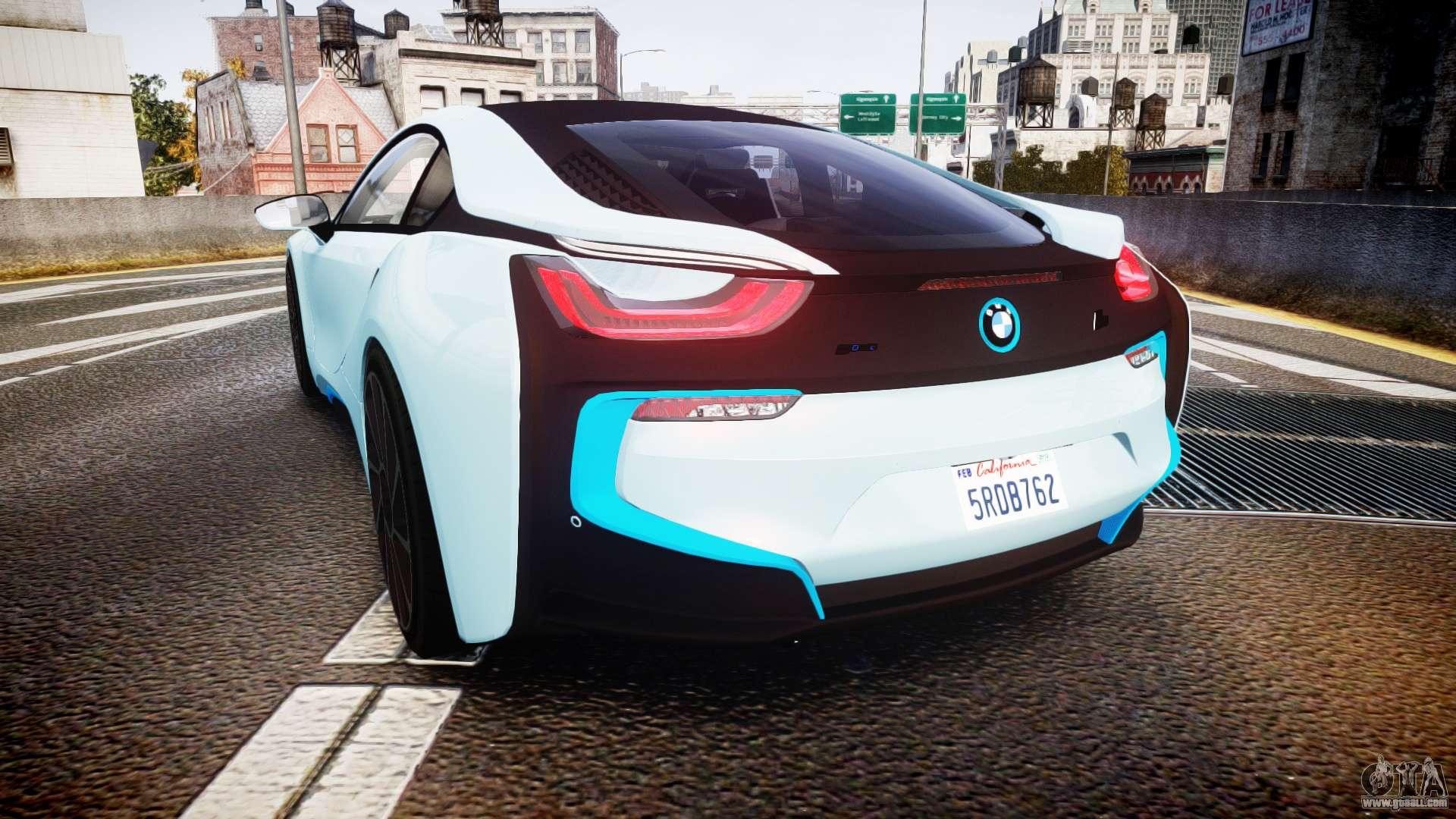 BMW I8 Wheels >> BMW i8 2013 for GTA 4