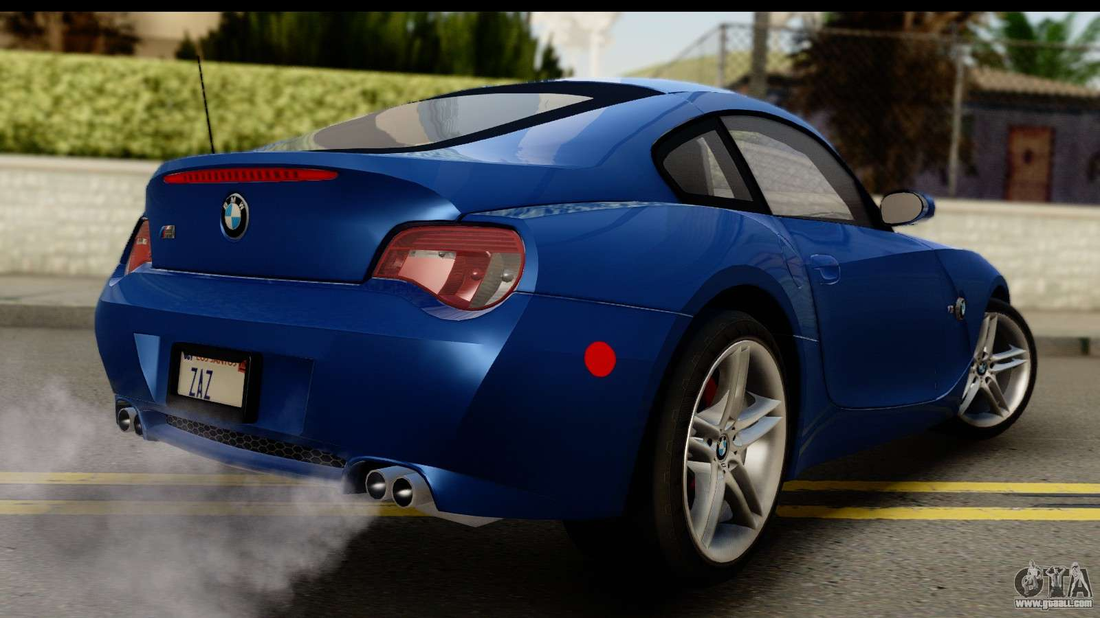 Bmw Z4m Coupe 2008 For Gta San Andreas