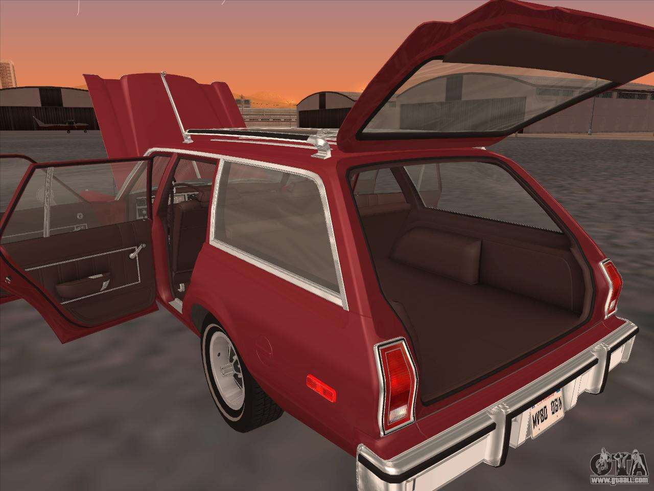 Plymouth Volare Wagon 1976 For Gta San Andreas
