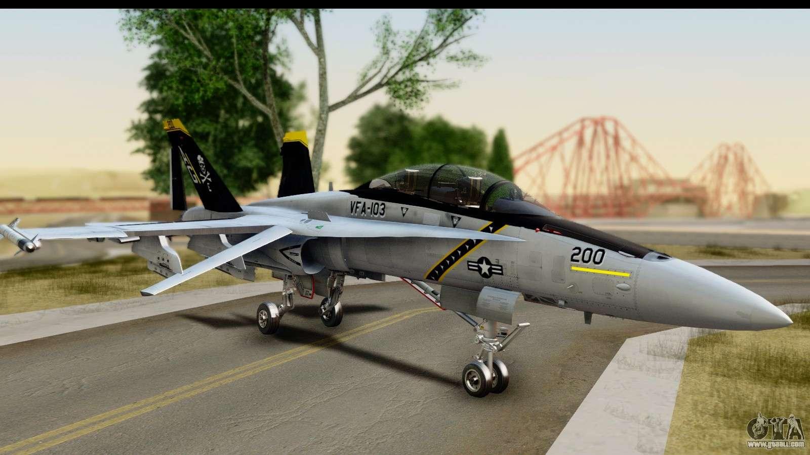 FA-18D VFA-103 Jolly Rogers for GTA San Andreas