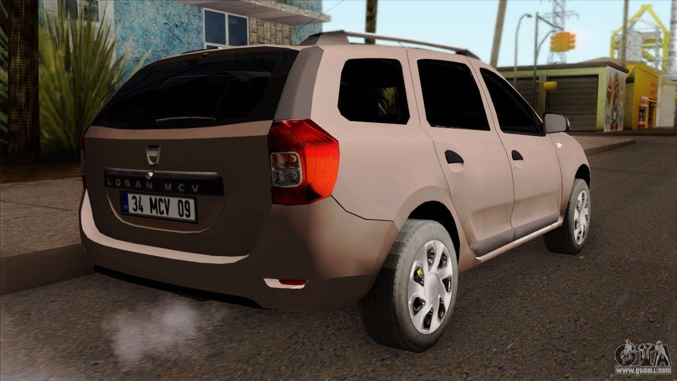 dacia logan mcv 2013 ivf for gta san andreas. Black Bedroom Furniture Sets. Home Design Ideas