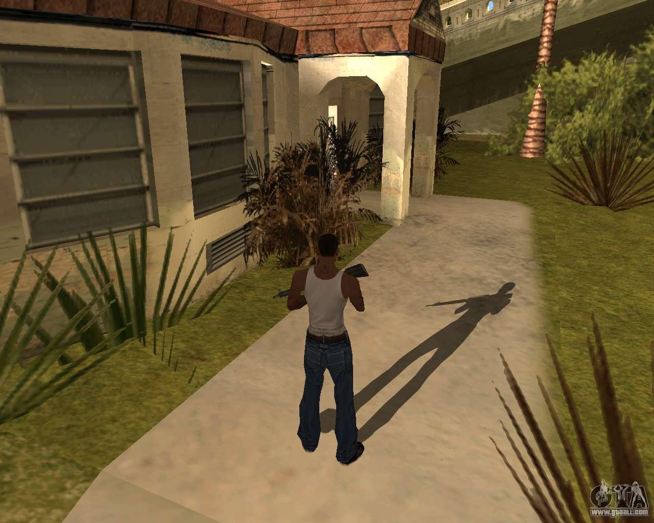 Gta San Andreas мод на Тени