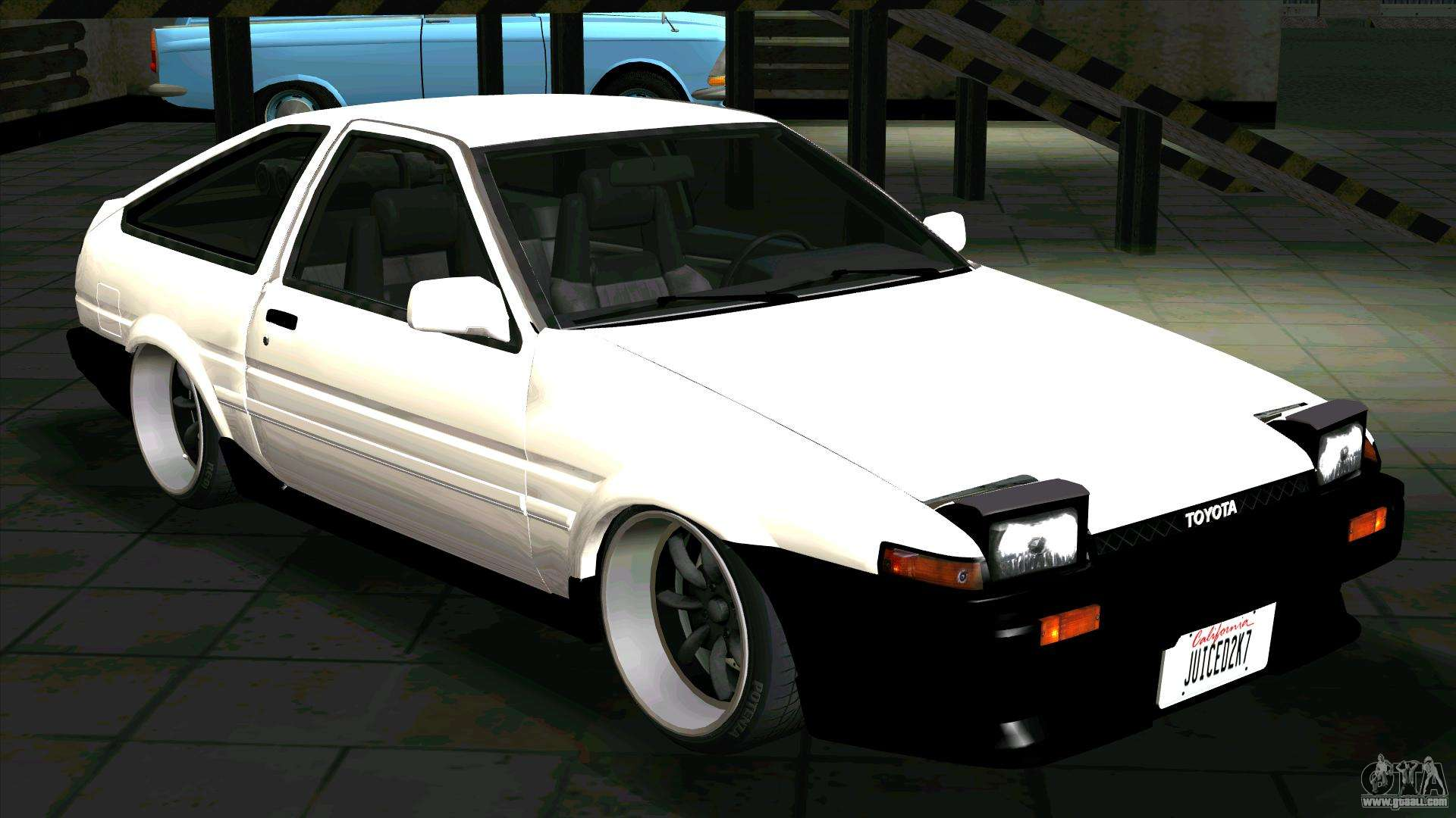 toyota sprinter trueno ae86 for gta san andreas. Black Bedroom Furniture Sets. Home Design Ideas