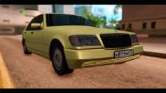 Mercedes-Benz W140 for GTA San Andreas