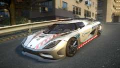 Koenigsegg Agera Polish Highway Patrol Police for GTA 4