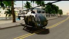 MBB Bo-105 Army for GTA San Andreas