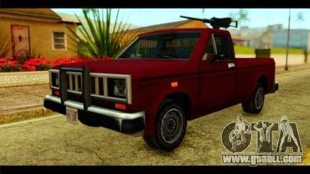 Bobcat Technical Pickup for GTA San Andreas