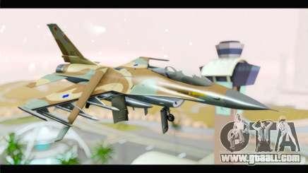 F-16A Netz for GTA San Andreas