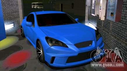 Hyundai Genesis Coupe for GTA San Andreas