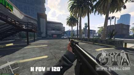 FOV mod v1.3 for GTA 5