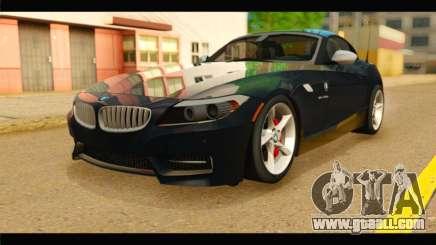 BMW Z4 sDrive35is 2011 for GTA San Andreas