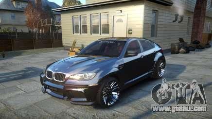 HAMANN BMW X6 2011 Tycoon EVO M v1.0 TSE for GTA 4