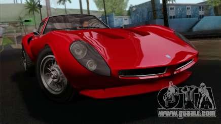 GTA 5 Grotti Stinger GT v2 IVF for GTA San Andreas