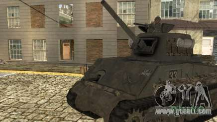 Tank M4 Sherman for GTA San Andreas