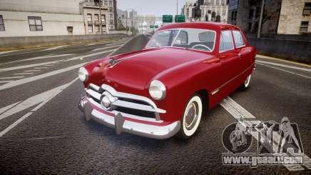 Ford Custom Fordor 1949 v2.2 for GTA 4