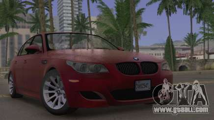 BMW M5 E60 2009 Stock for GTA San Andreas