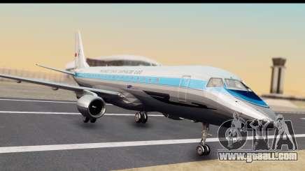 Embraer 175 PLL LOT Retro for GTA San Andreas