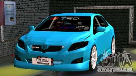 Toyota Corolla Altis for GTA San Andreas