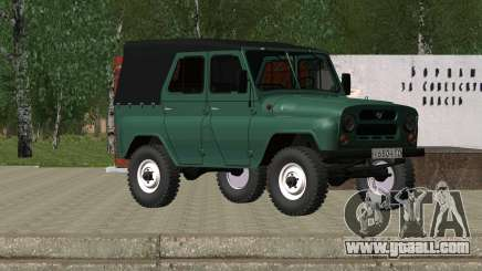 UAZ 469 for GTA San Andreas