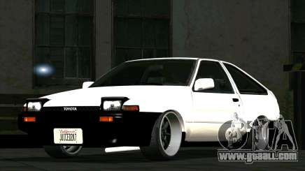Toyota Sprinter Trueno AE86 for GTA San Andreas