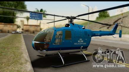 MBB Bo-105 KLM for GTA San Andreas