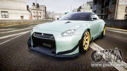 Nissan GT-R R35 Rocket Bunny [Update] for GTA 4