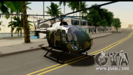 MBB Bo-105 Army for GTA San Andreas