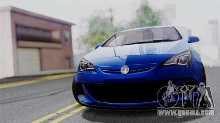 Vauxhall Astra VXR 2012 for GTA San Andreas