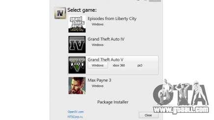 OpenIV 2.5 for GTA 5