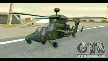 Eurocopter Tiger Polish Air Force for GTA San Andreas