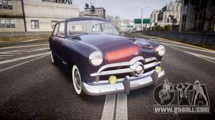 Ford Custom Tudor 1949 v2.2 for GTA 4