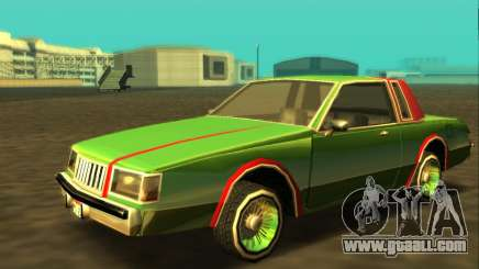 Majestic Restyle for GTA San Andreas