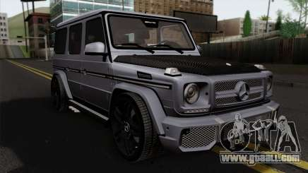 Mercedes-Benz G65 AMG Carbon Edition for GTA San Andreas