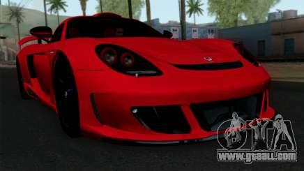Gemballa Mirage GT v3 Windows Up for GTA San Andreas