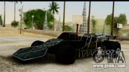 Flip Car 2012 for GTA San Andreas
