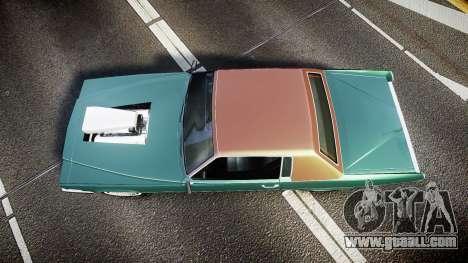 Albany Manana GTA V Style for GTA 4 right view