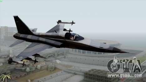 Northrop F-5E Tiger II Wardog Squadron for GTA San Andreas