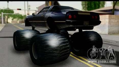 Monster Phoenix for GTA San Andreas