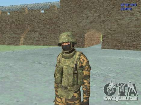 Fighter in mountain flora for GTA San Andreas forth screenshot