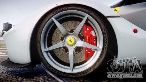 Ferrari LaFerrari 2013 HQ [EPM] for GTA 4 back view