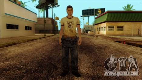 Ellis from Left 4 Dead 2 for GTA San Andreas