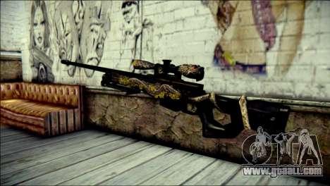 AWM Infernal Dragon CrossFire for GTA San Andreas second screenshot