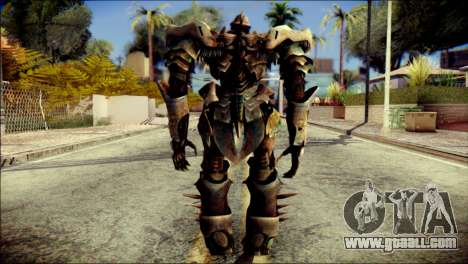 Grimlock Skin from Transformers for GTA San Andreas second screenshot