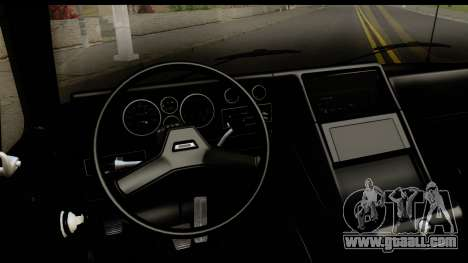 GMC Vandura G-1500 Payday 2 for GTA San Andreas inner view