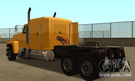 PS2 Tanker for GTA San Andreas right view