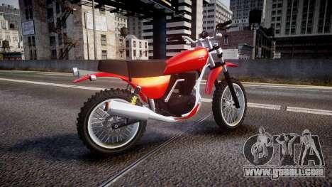 GTA V Dinka Enduro for GTA 4 left view