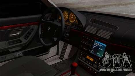 BMW 750iL E38 Romanian Edition for GTA San Andreas right view